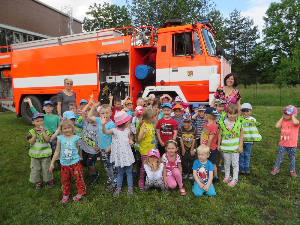 Na návštěvě u hasičů…